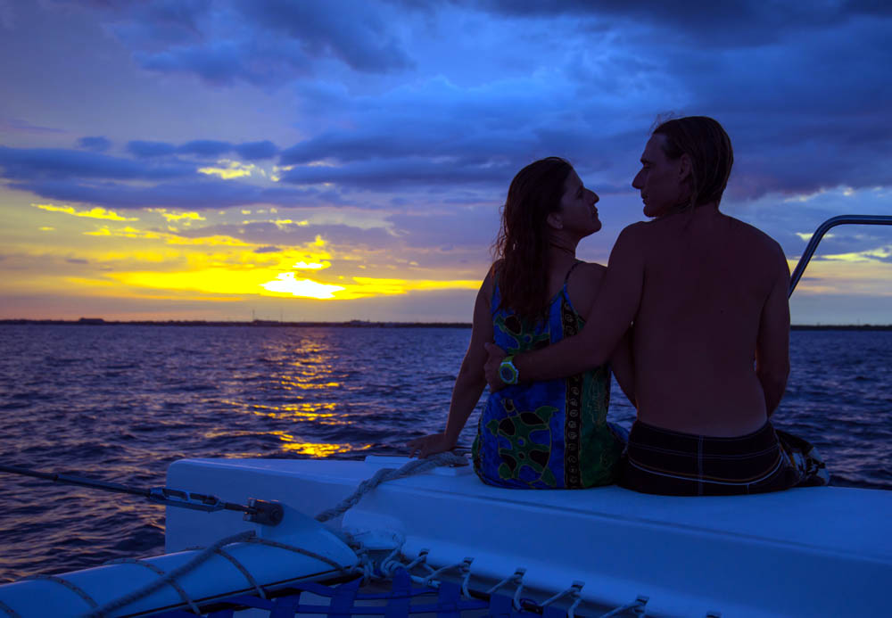 Private Catamaran Sunset Sailing Charter for 12