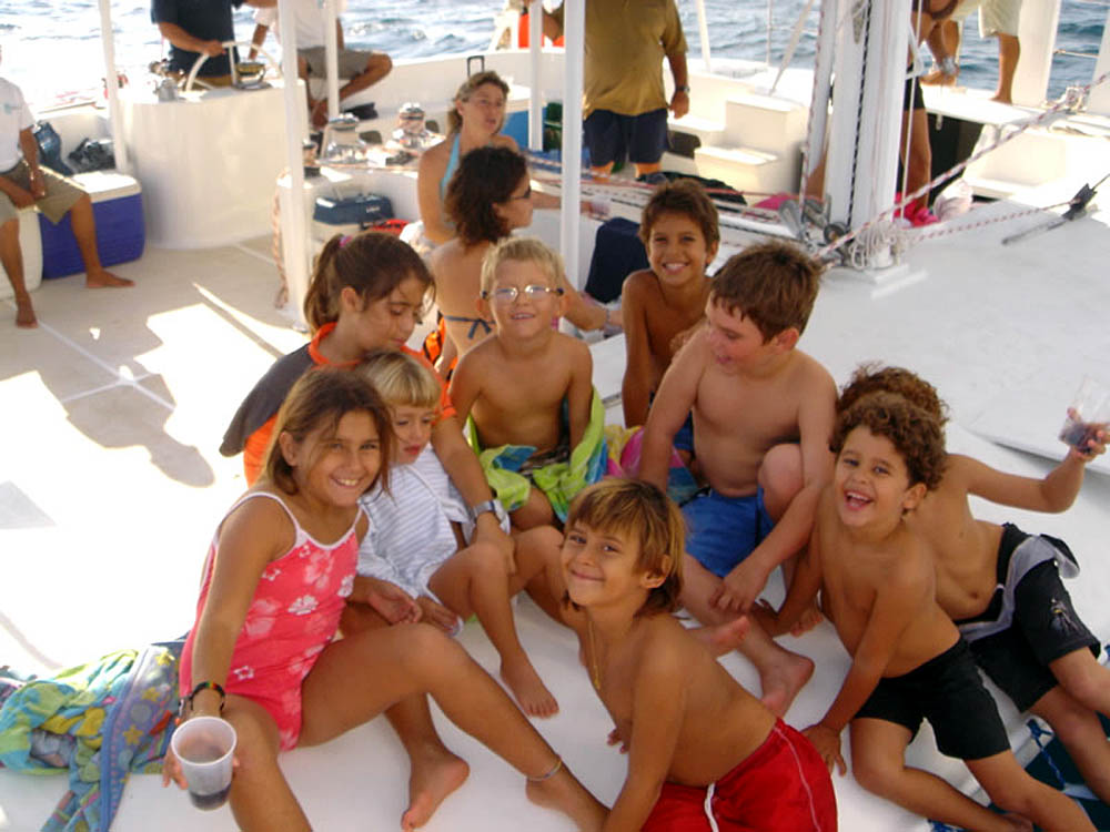 Private Catamaran Snorkeling and Sunset Charter for 12